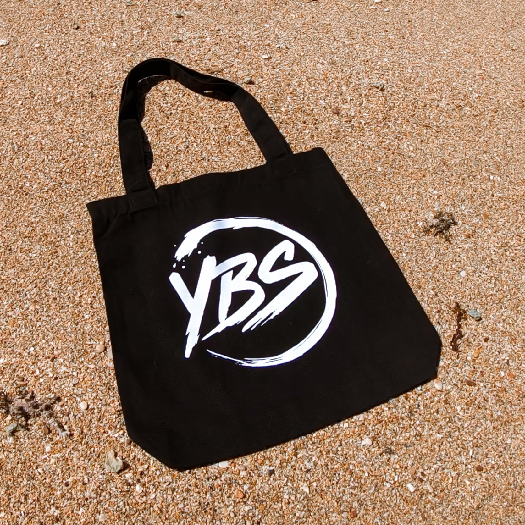 YBS Logo Carry Bag (Black)
