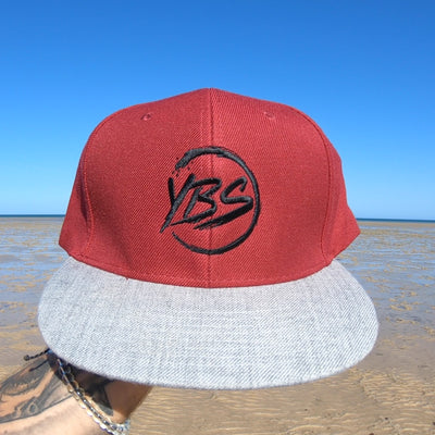 Embroidered Snap Back Hat