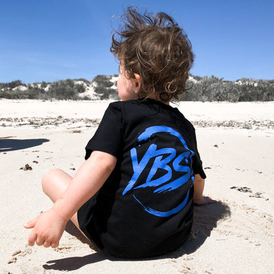 YBS Logo Groms Tee (Black)