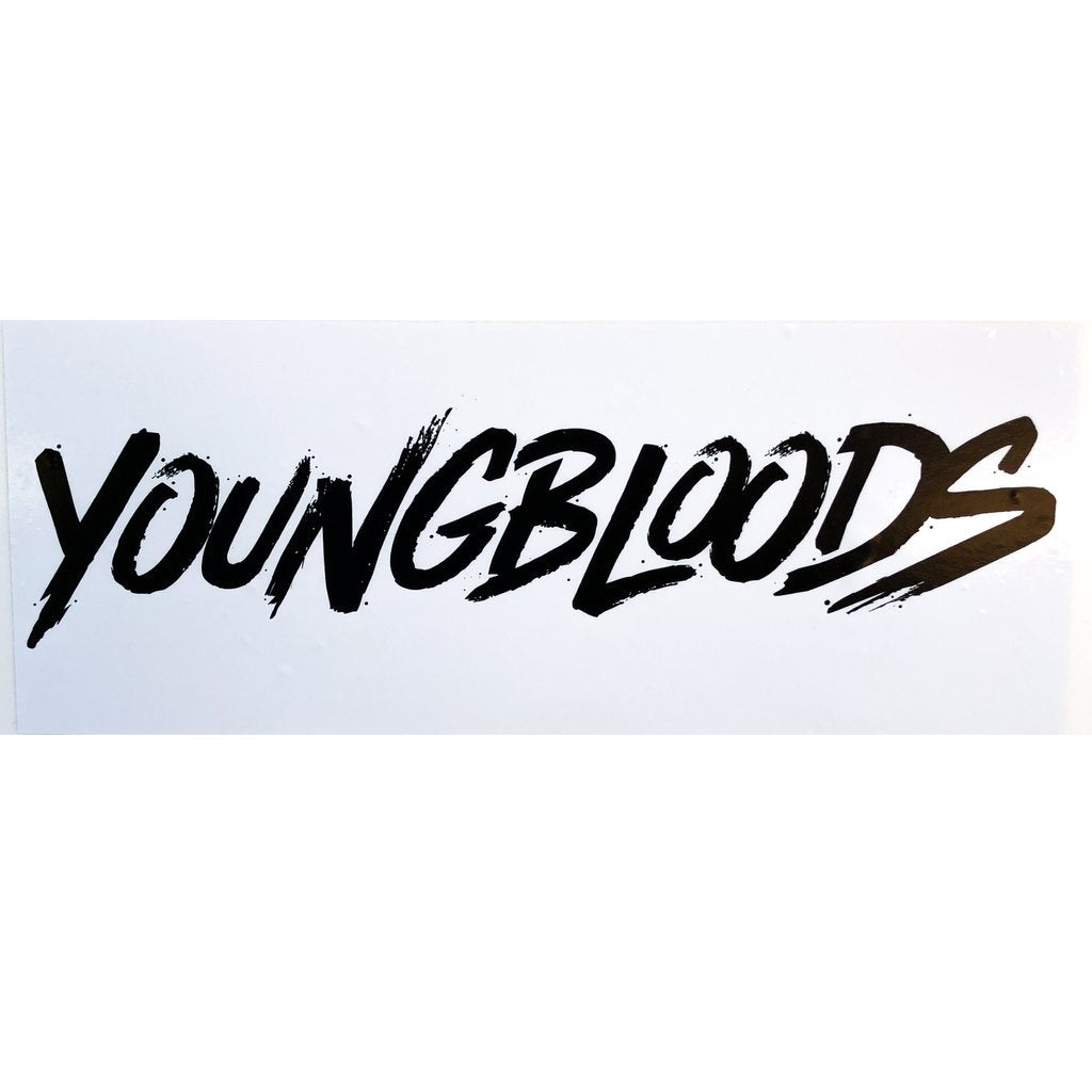 Youngbloods Standard Sticker Bumper Sticker