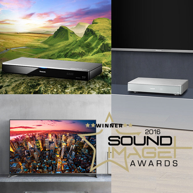 Panasonic wins 2016 Sound+Image Awards