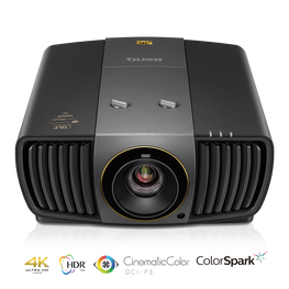 BenQ X12000H 4K UHD LED Projector *ex-display model 1 left*