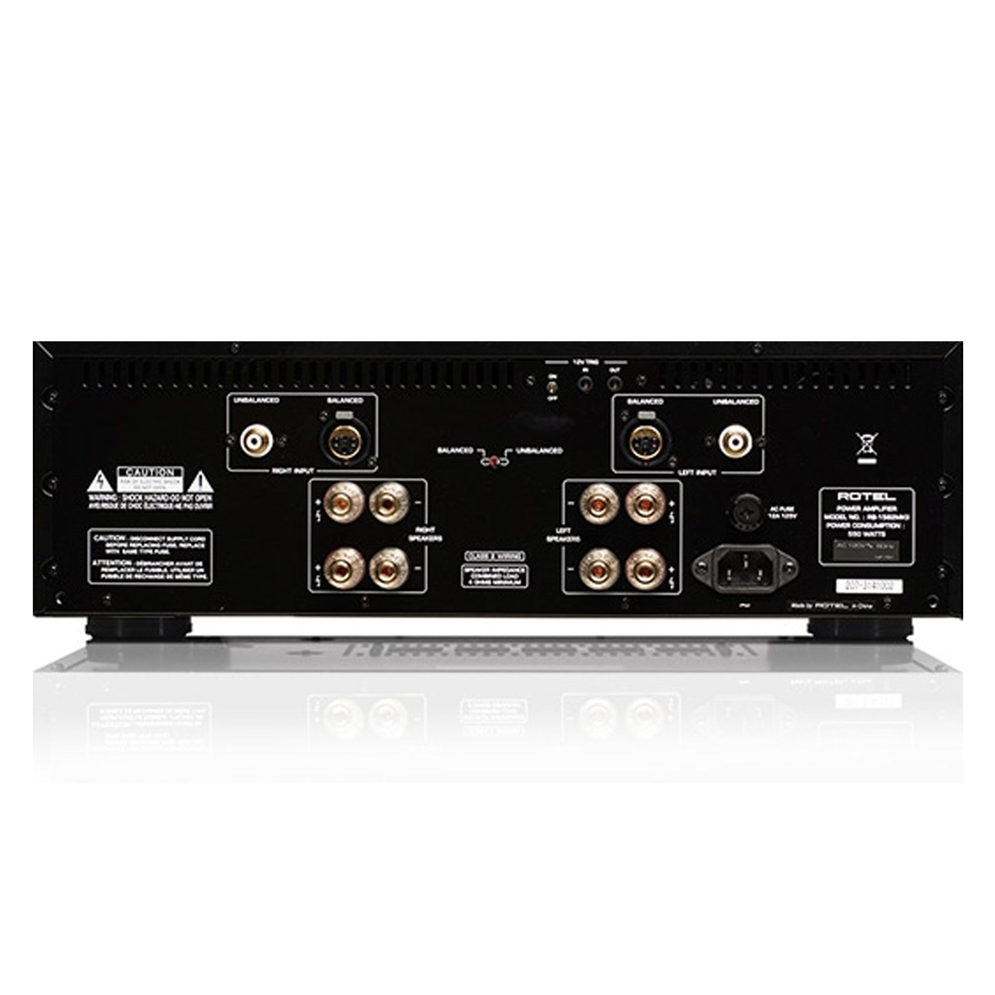 Rotel RB-1582 MKII 200W 2-Channel Power Amplifier