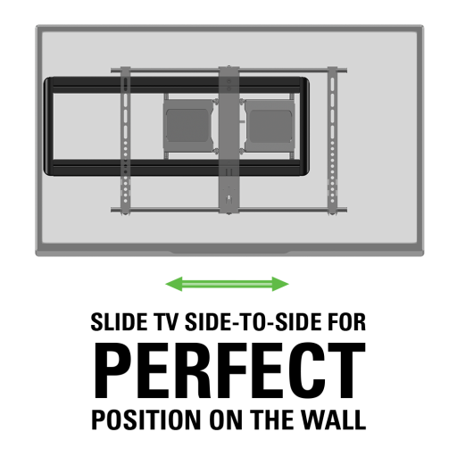 Sanus Super Slim Full Motion Tv Wall Mount Installation