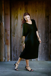 Tara Batwing Dress Long