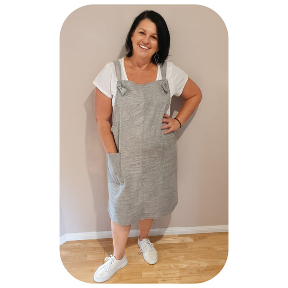 Shannon Pinafore Dress/DISCONTINUED