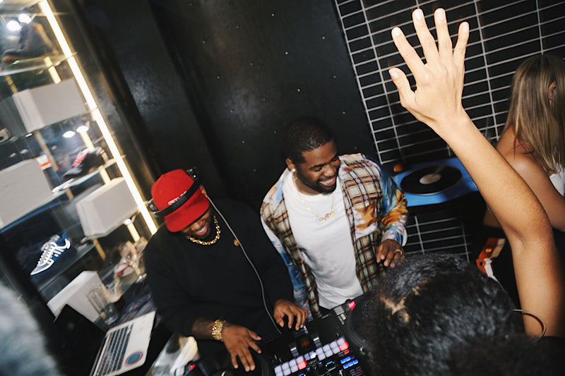A$AP FERG & TJ MIZELL AT BUTTER