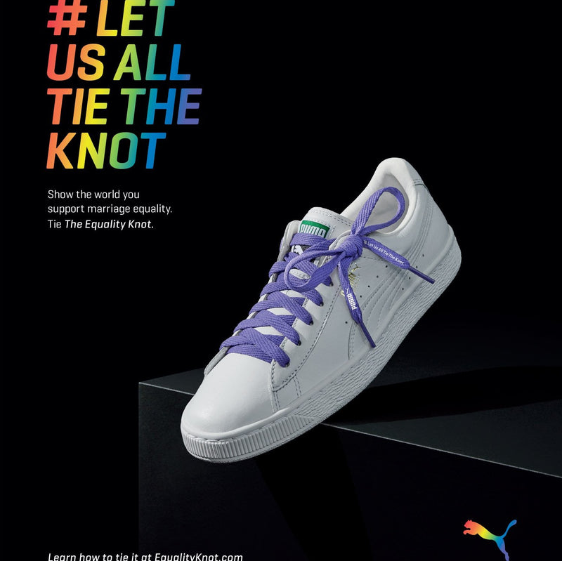 PUMA #LETUSALLTIETHEKNOT MARRIAGE EQUALITY CAMPAIGN