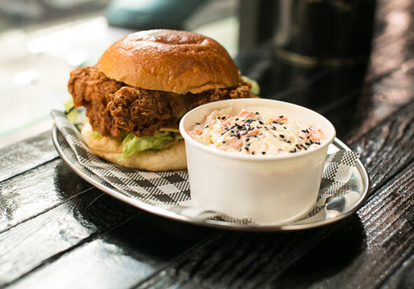 Cheezus Fried Chicken Sandwich Butter Sydney Menu