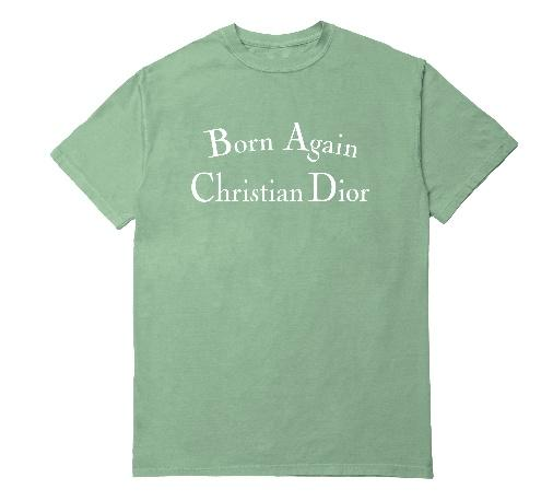 BORN AGAIN T-SHIRT EMERALD