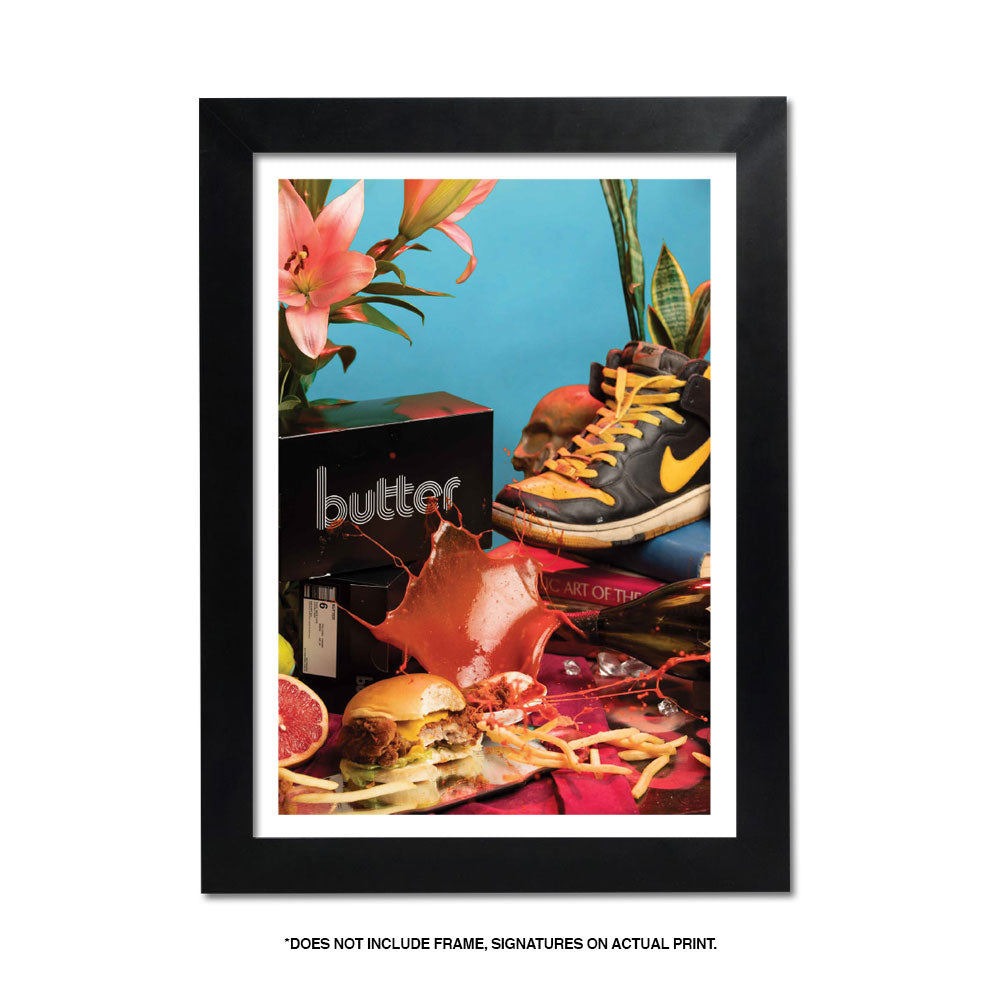 BUTTER - GIVETH + TAKEAWAY I SPLASH* FINE ART PRINT