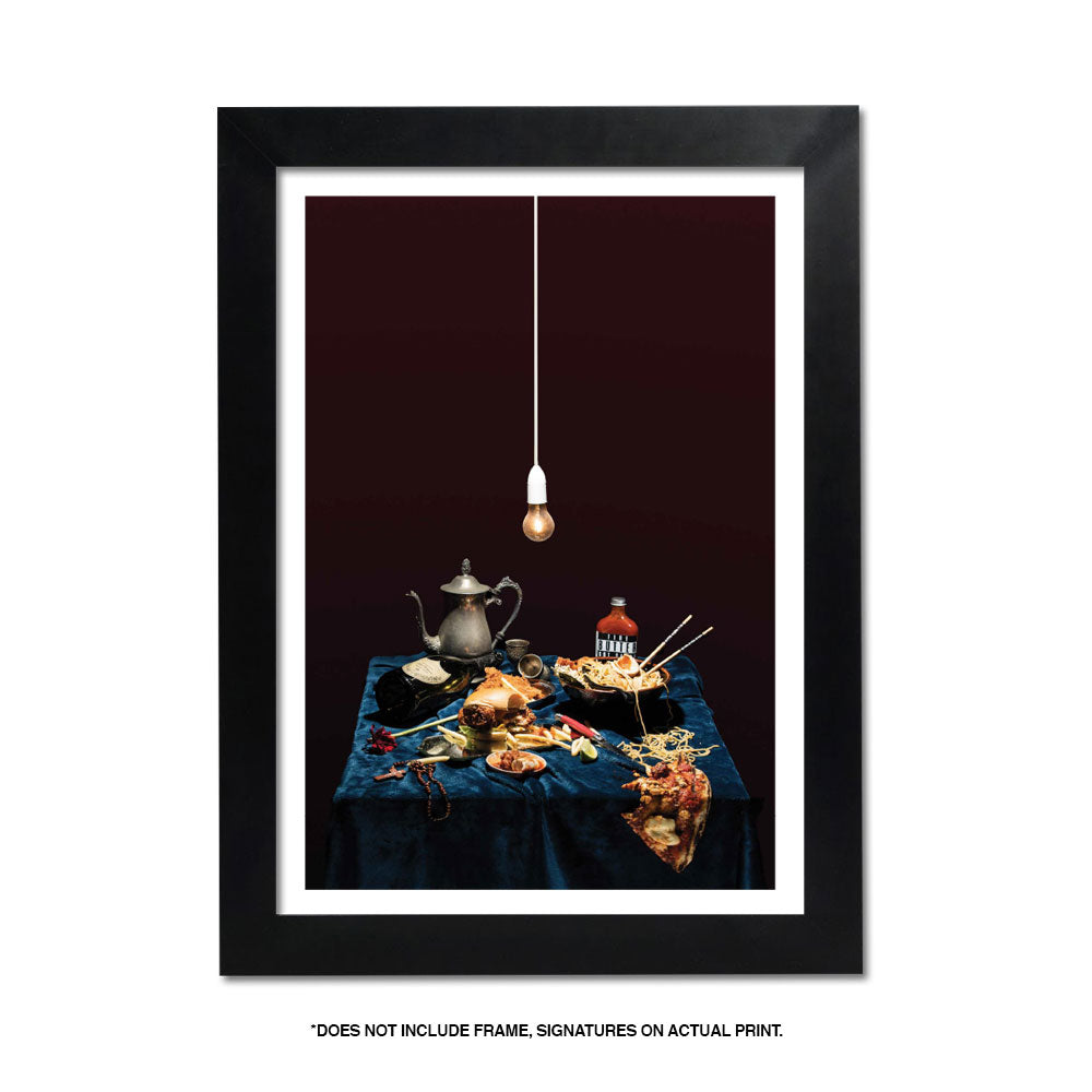 BUTTER - GIVETH + TAKEAWAY II HANGING LIGHTS* FINE ART PRINT