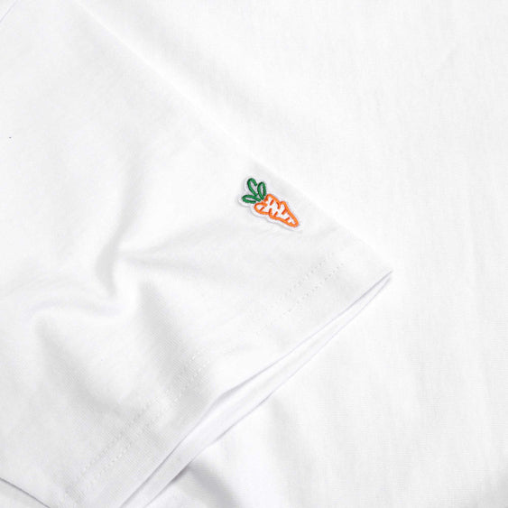 CARROTS WORDMARK TEE WHITE