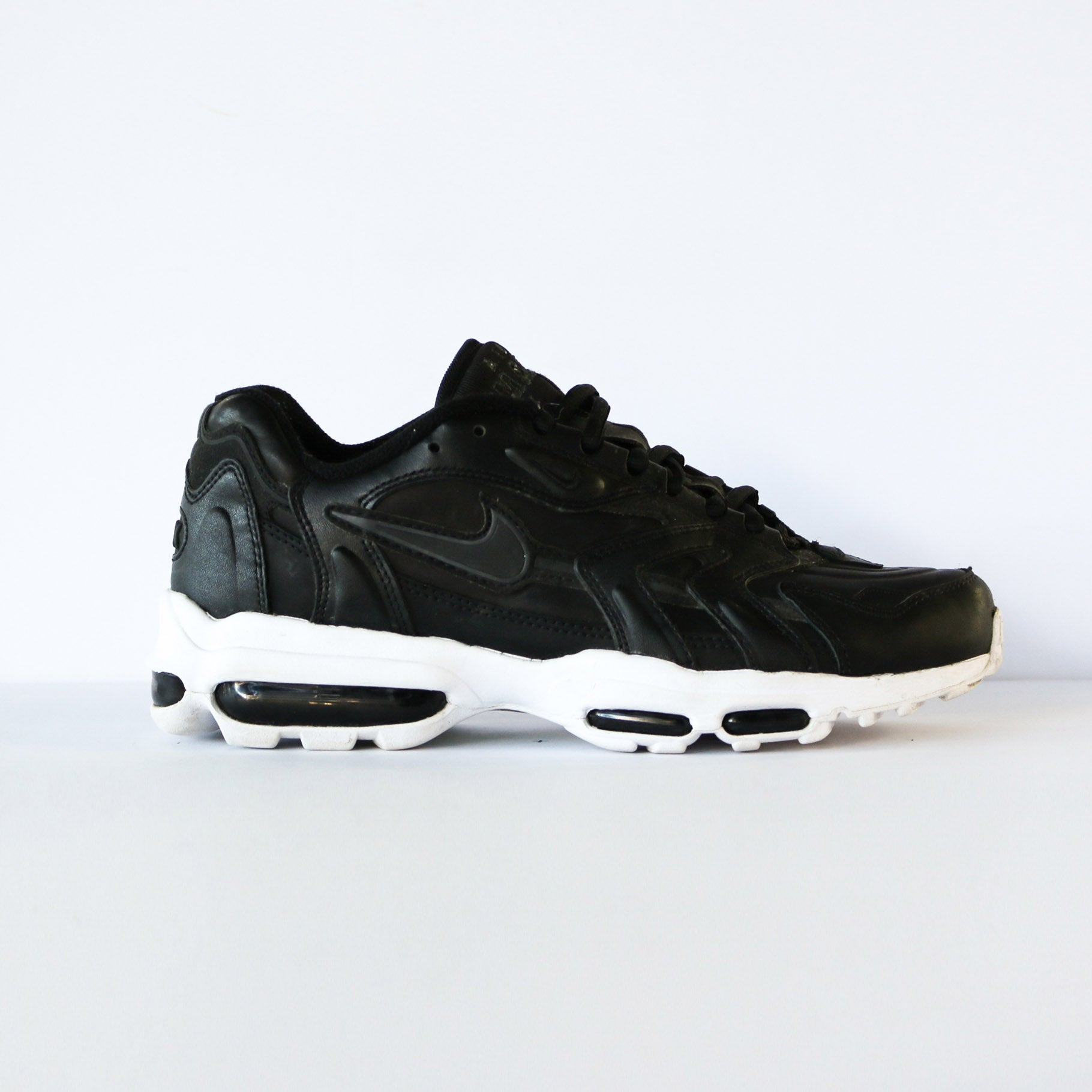 "Air Max 96 II ""Black Leather"""