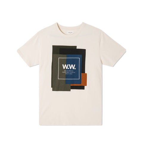 WORDMARK T-SHIRT ORANGE