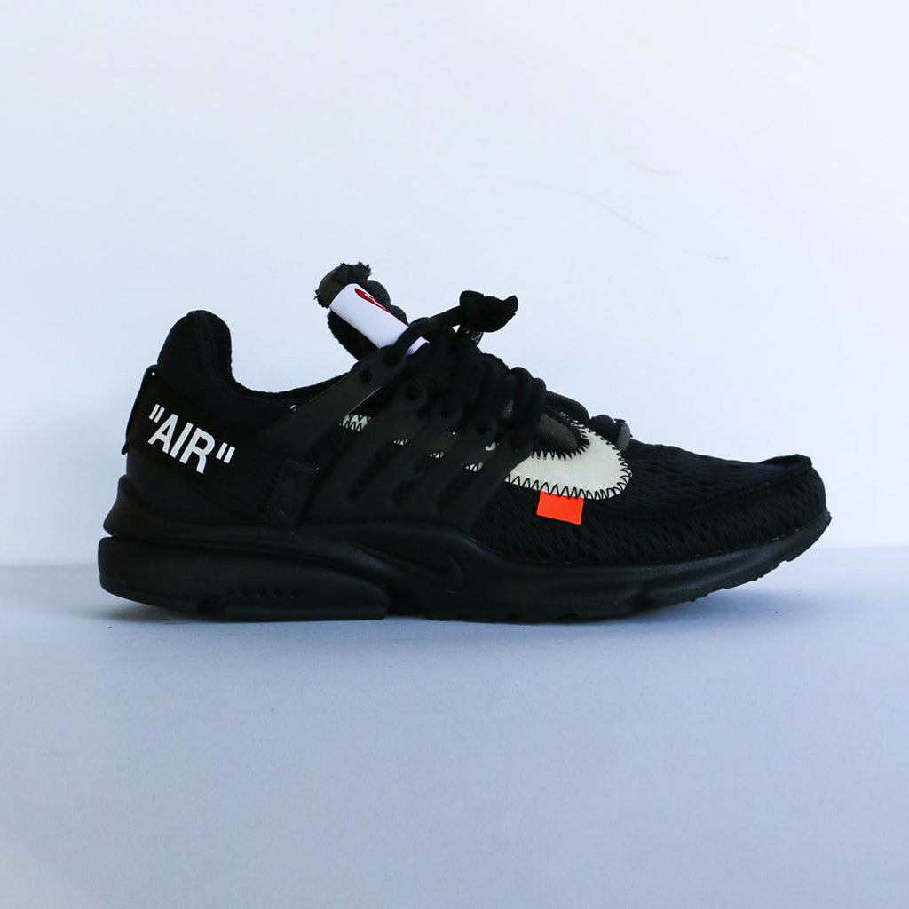 "Off White c/o Virgil Abloh x Nike ""The Ten: Air Presto"" Black"