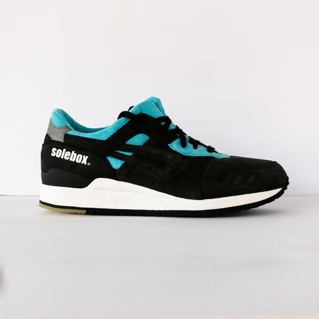 "Solebox x Asics Gel-Lyte III ""Blue Carpenter Bee"""