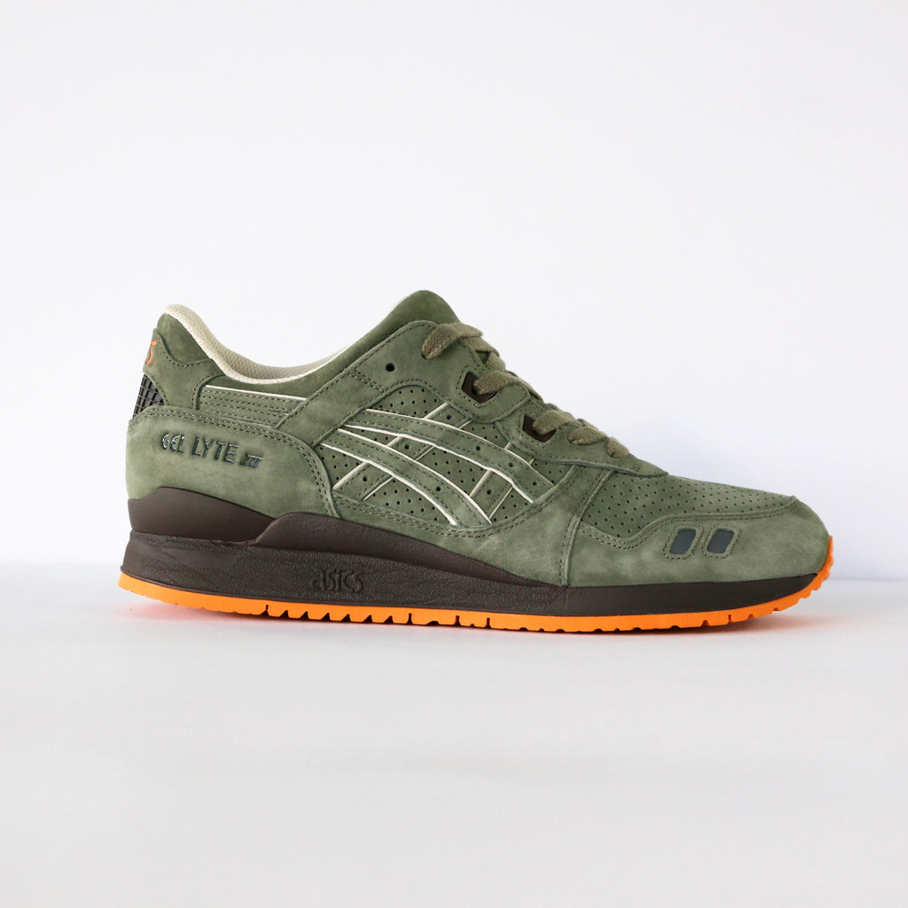 "Asics Gel Lyte III Ronnie Fieg ""Militia"" (With Special Box)"