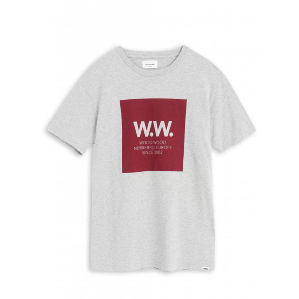 WW Square T-shirt Grey