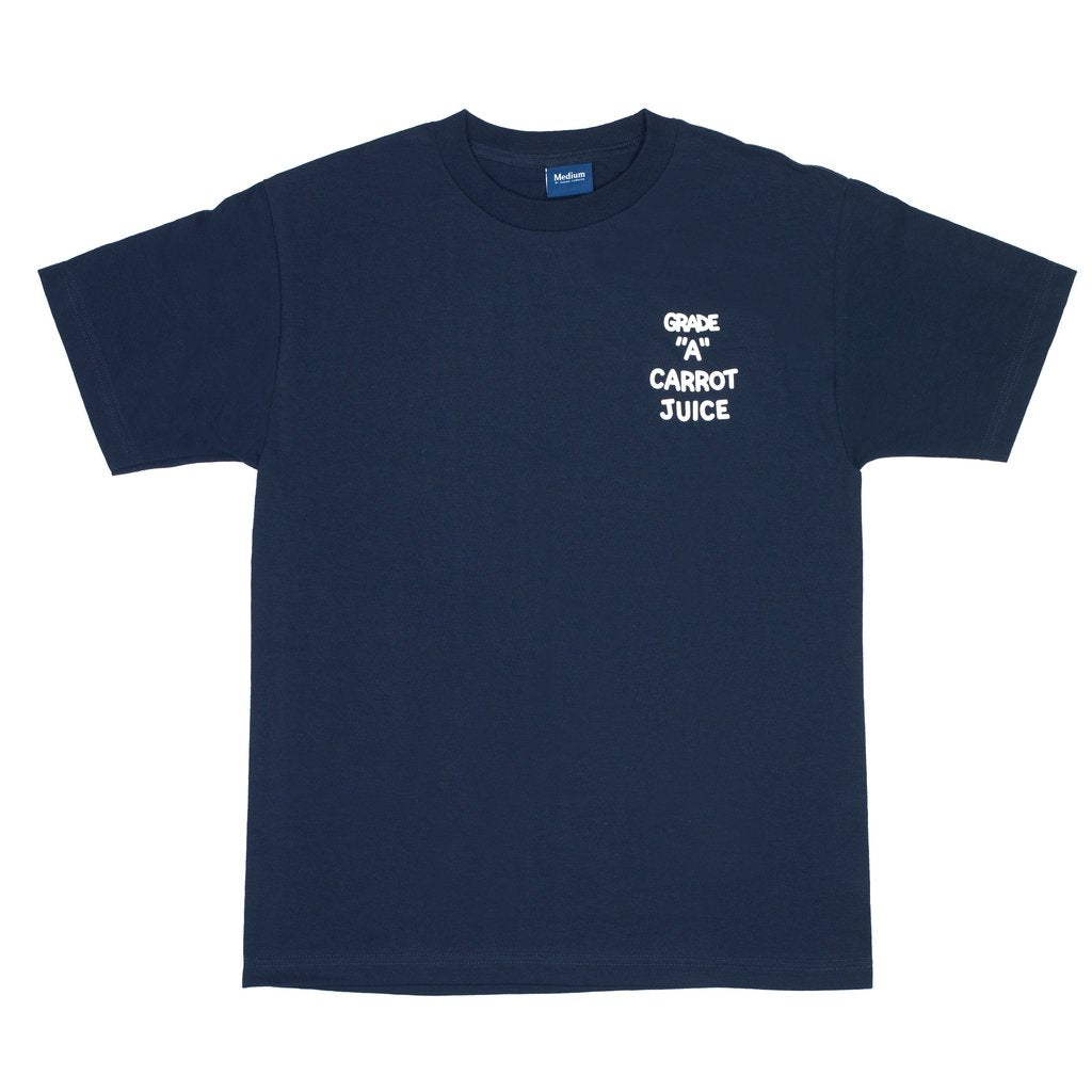 CARROT JUICE T-SHIRT NAVY