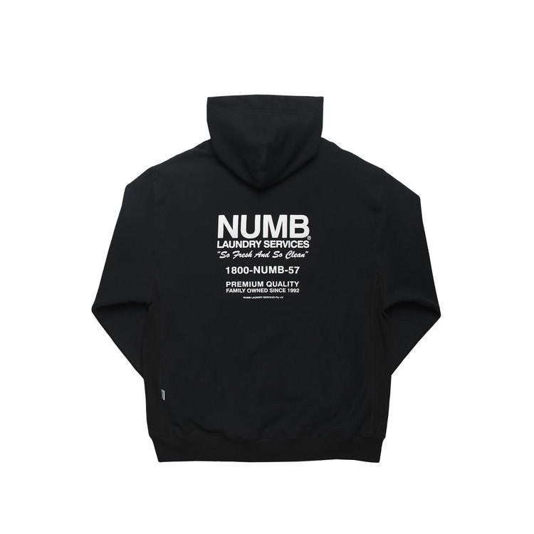 Laundry Services Hooded Sweatshirt Midnight Black