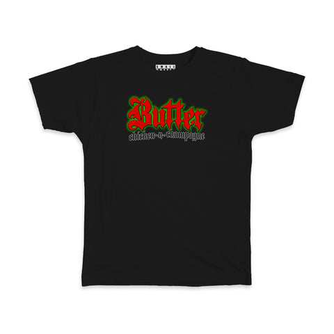 WORDMARK T-SHIRT BLACK