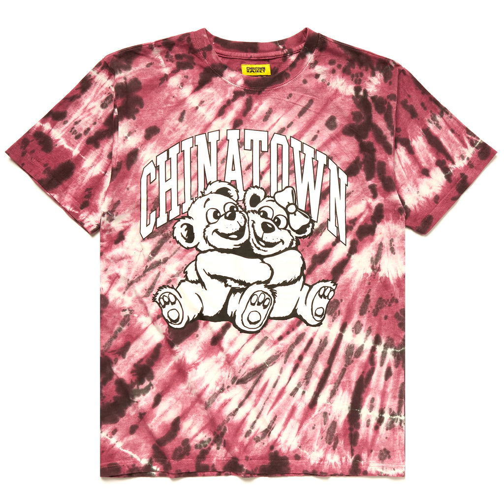 CHINATOWN MARKET UV CUTE TEE RED TIE DYE