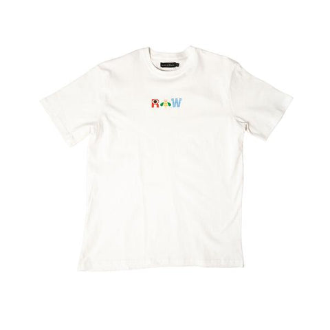 PEACE SMILEY T-SHIRT WHITE