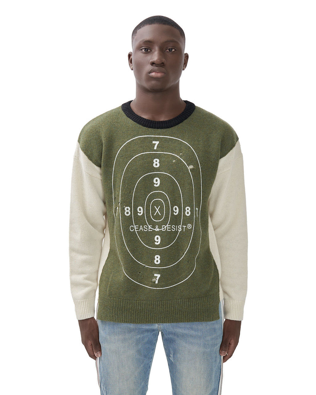 CEASE & DESIST BULLSEYE SWEATER