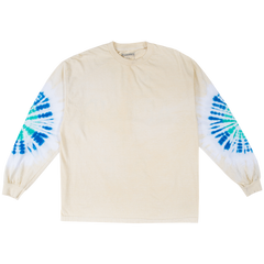 NOT AFRAID TYE DYE LONG SLEEVE