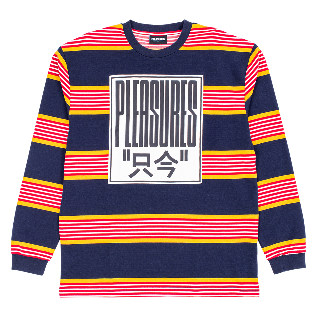 ELECTRONIC STRIPED L/S SHIRT