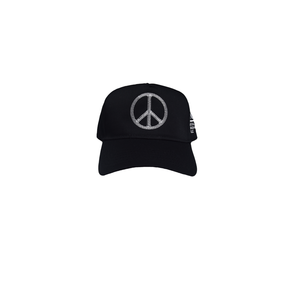 MH PEACE HAT BLACK