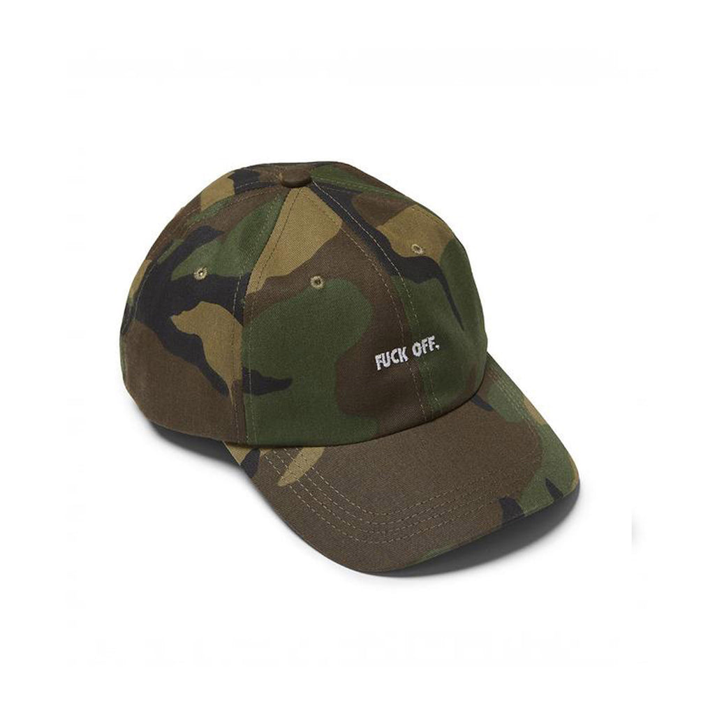 Fuck Off Dad Cap Camo