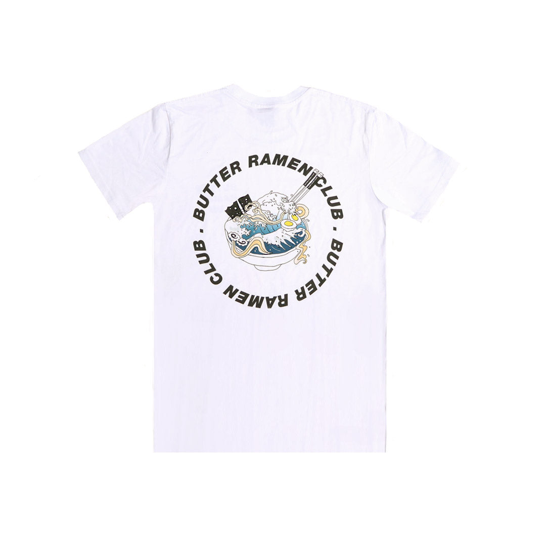 BUTTER RAMEN CLUB HOKUSAI T-SHIRT