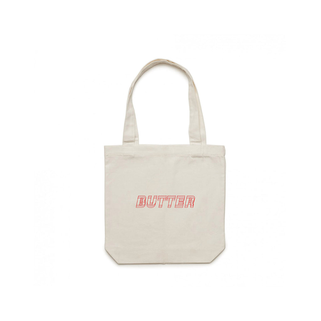 'TRIPLE BUTTER' LOGO TOTE BAG