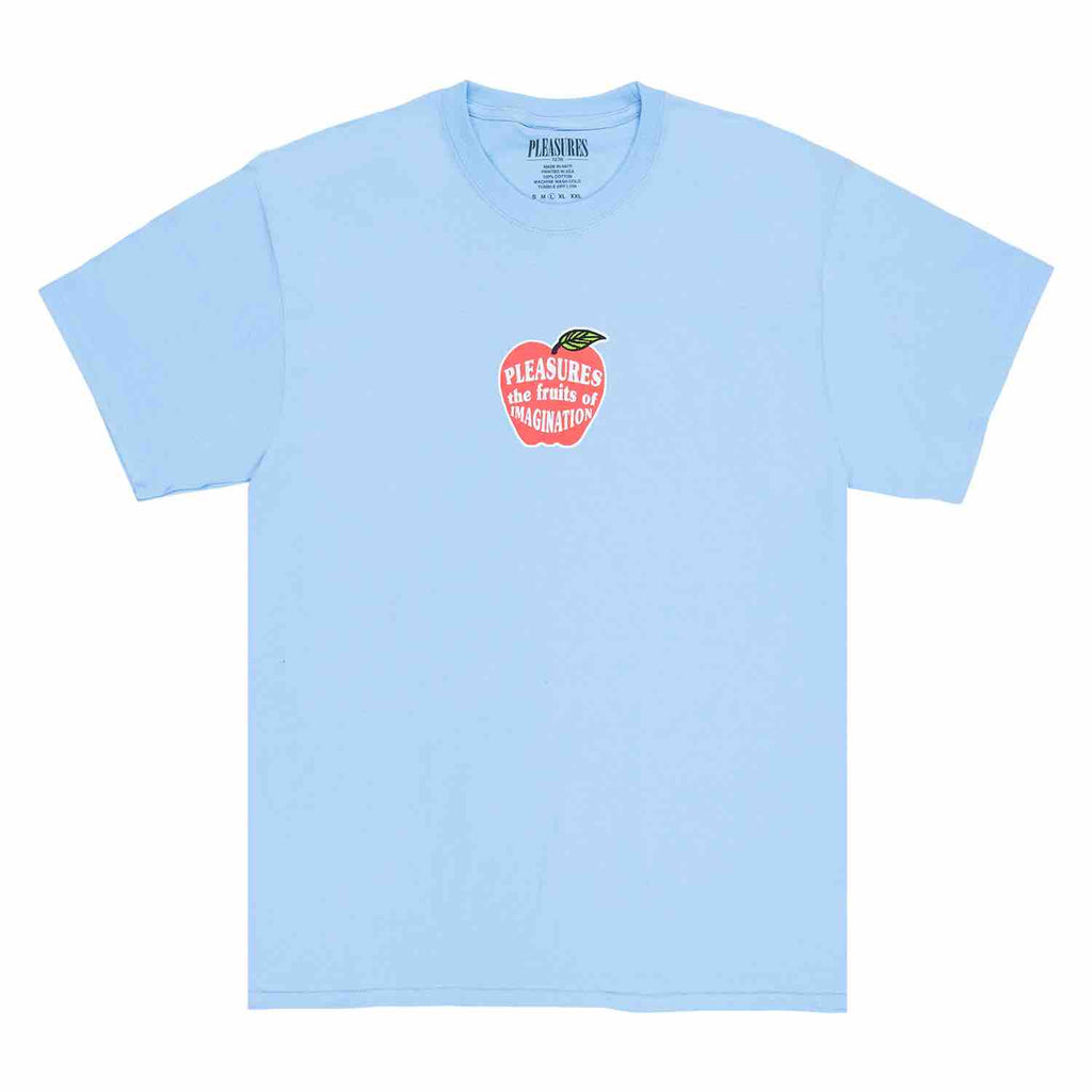 PLEASURES IMAGINATION T-SHIRT BLUE