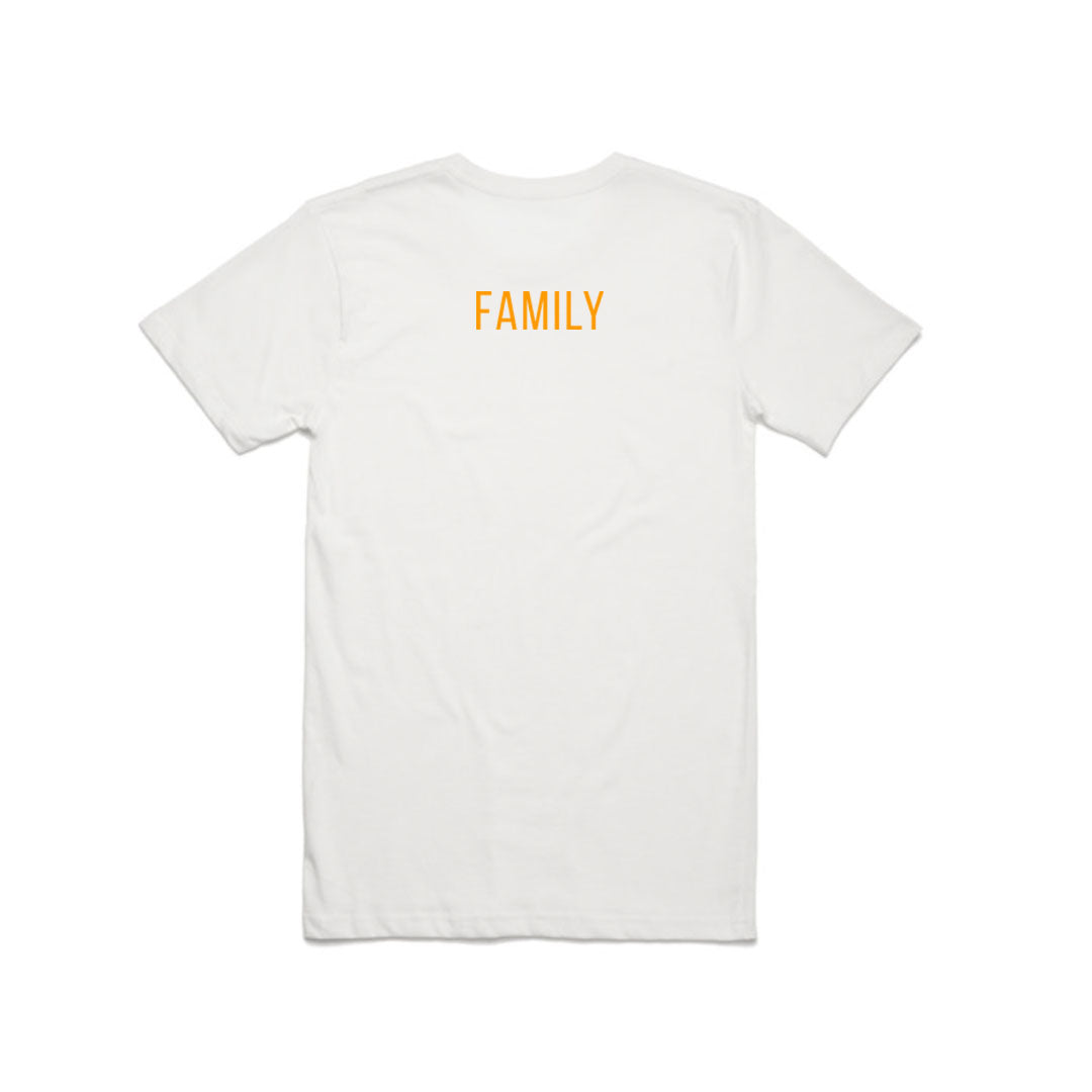 BUTTER FAMILY TEE WHITE
