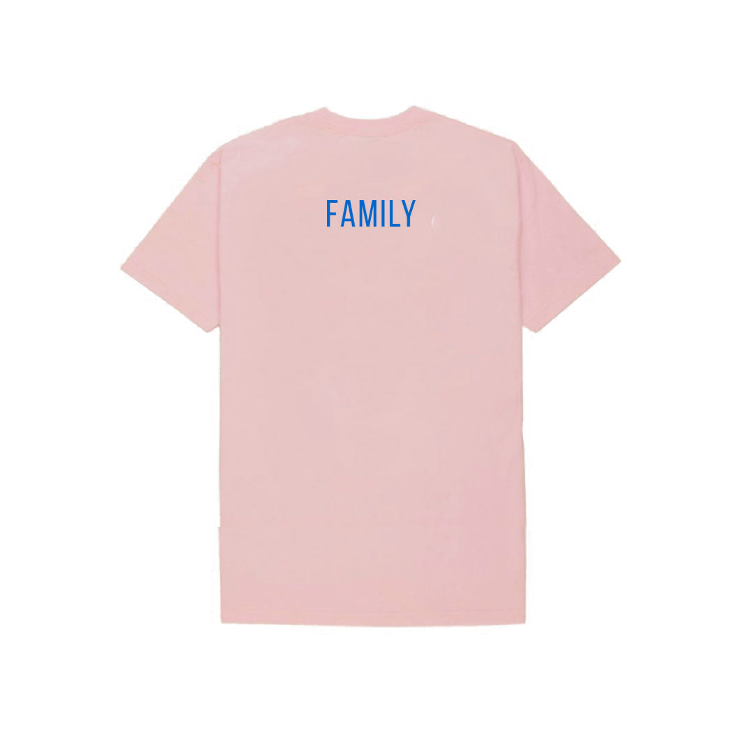 BUTTER FAMILY TEE PINK