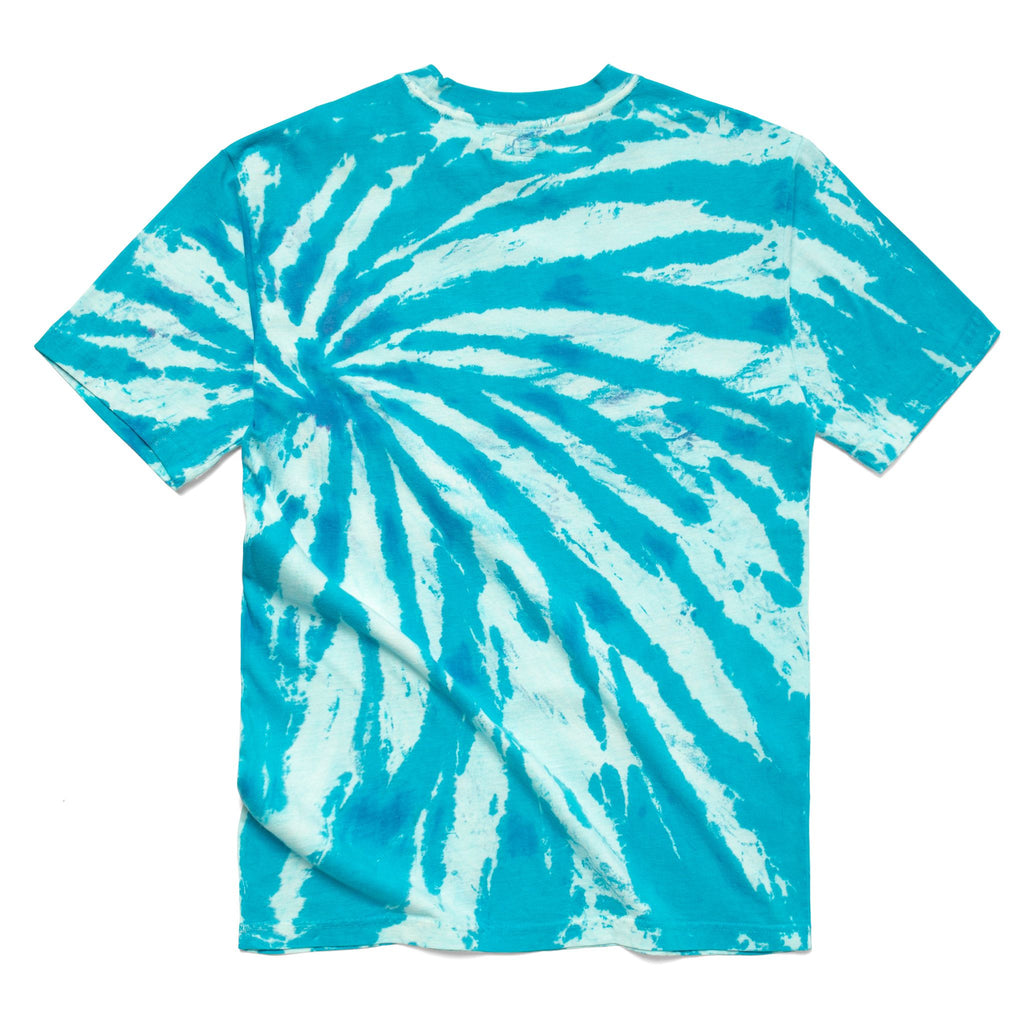 CHINATOWN MARKET SMILEY SKETCH BASKETBALL BEAR TEE TIE DYE