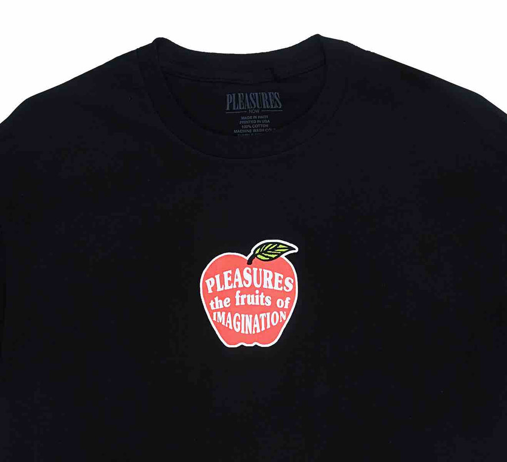 PLEASURES IMAGINATION T-SHIRT BLACK