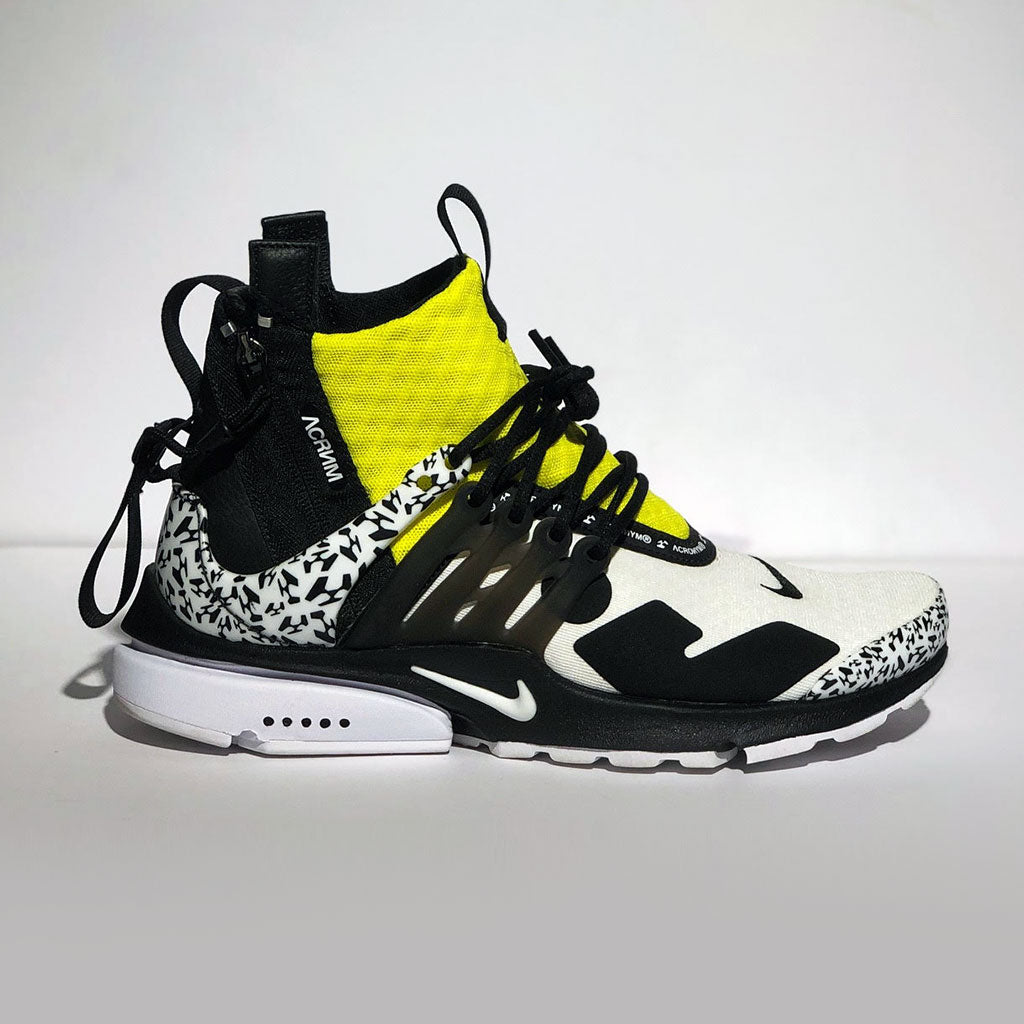 "Acronym x Nike Air Presto Mid ""Dynamic Yellow"""