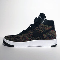 Air Force 1 Mid Flyknit Multi-Color Black