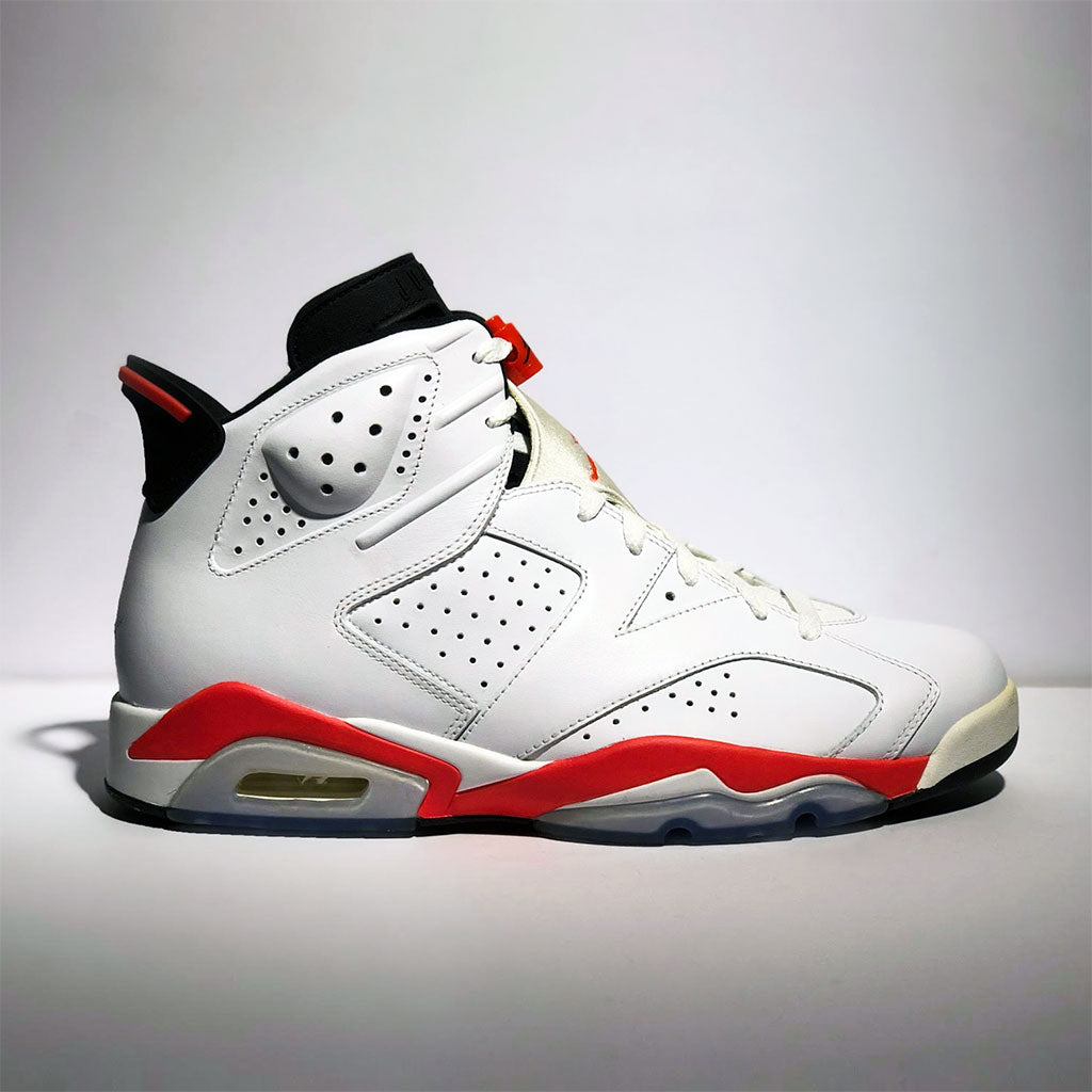 innovative design ed972 aa9cf Jordan 6 Retro Infrared White