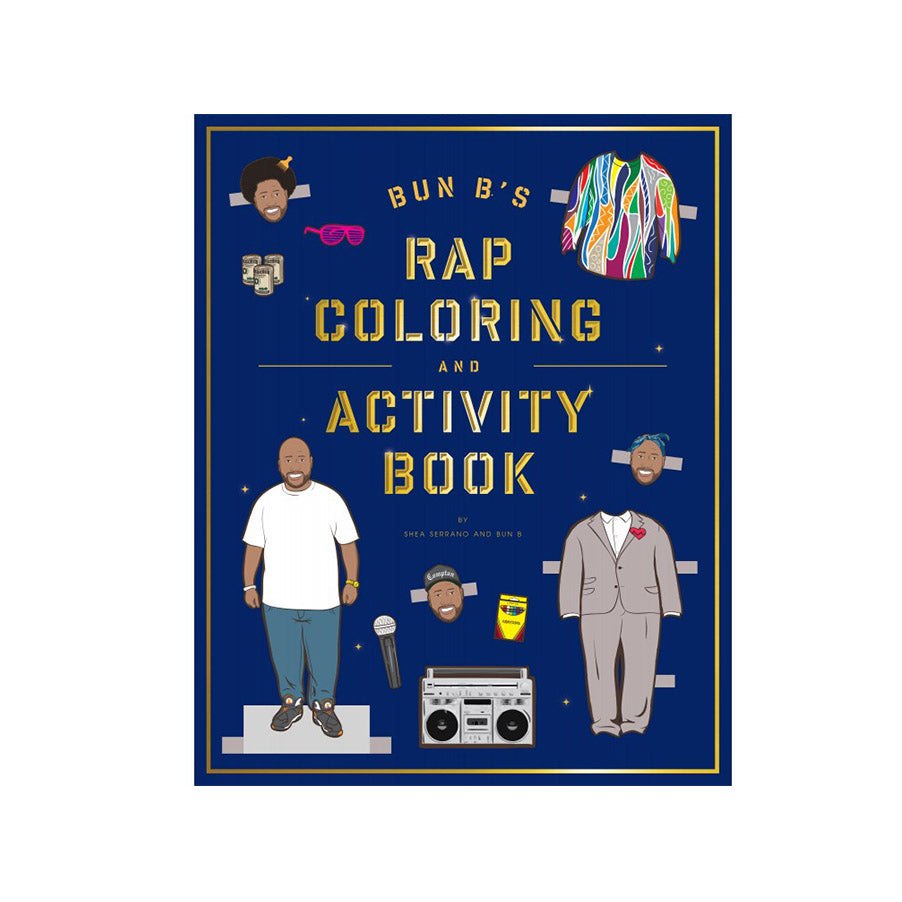 BUN B'S RAP COLORING ACTIVITY BOOK