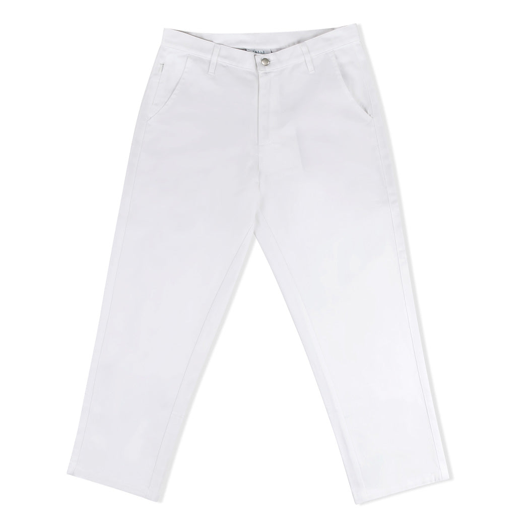 CARLO CARLO CROPPED TROUSER WHITE