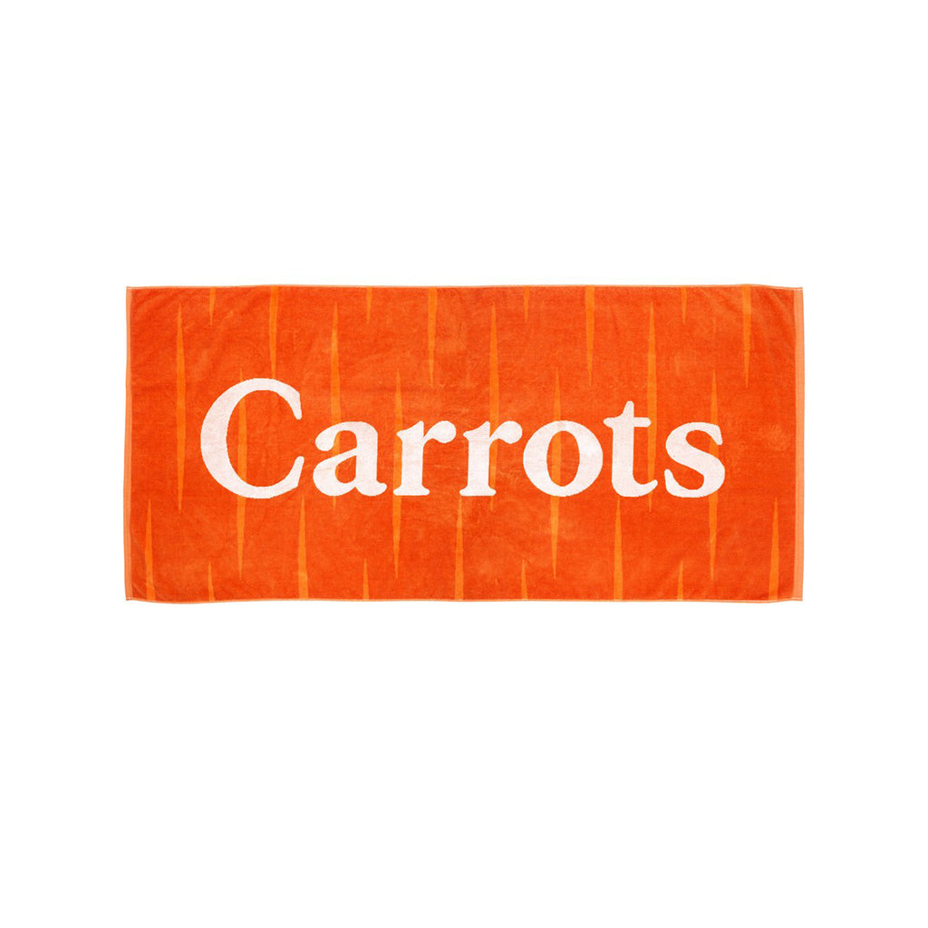 Carrots Beach Towel Orange