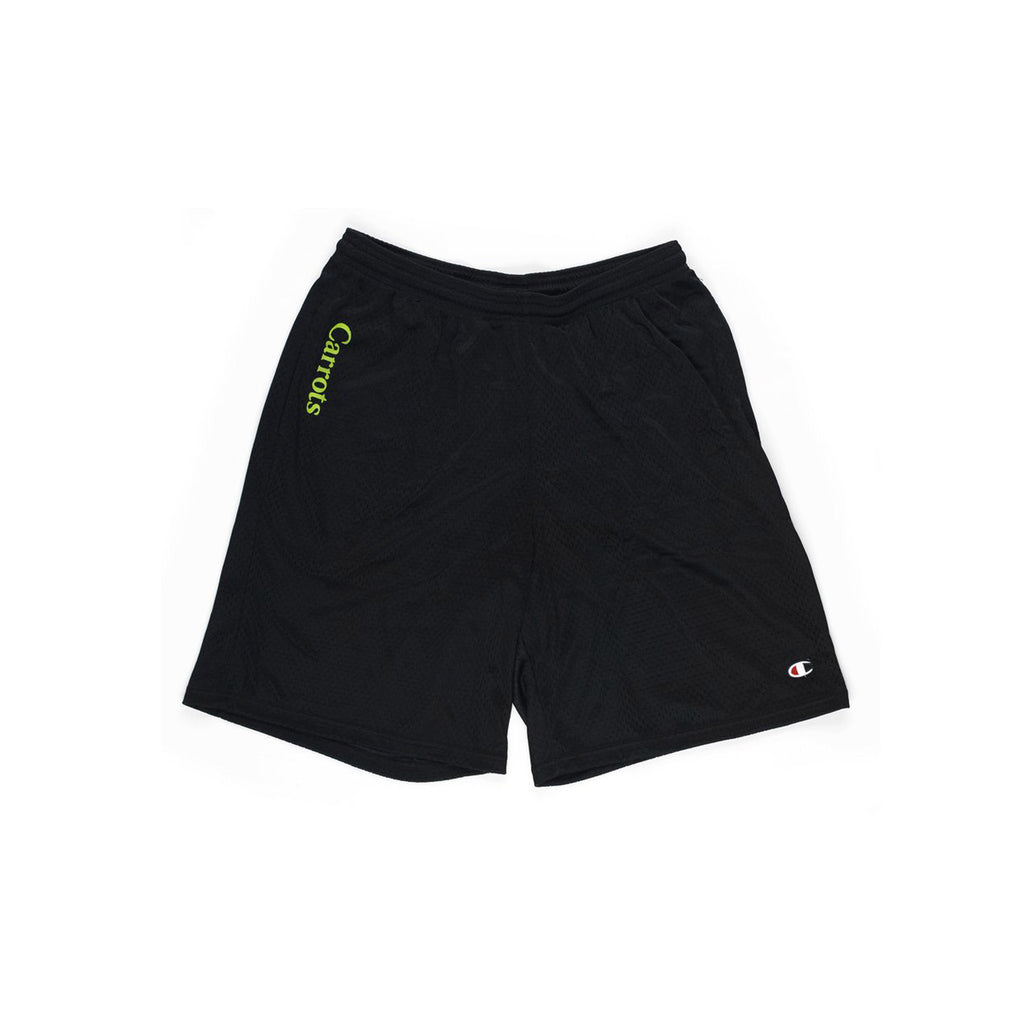 Carrots Mesh Shorts Black
