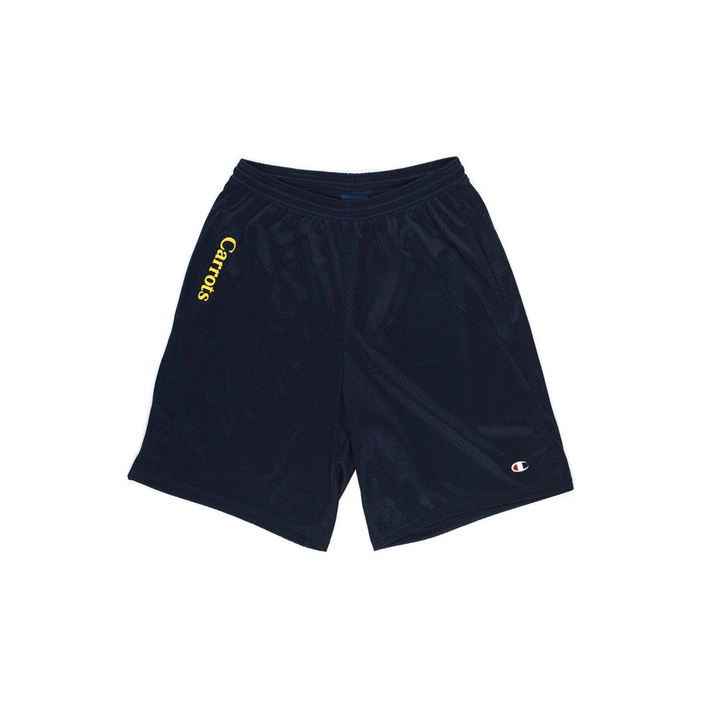 Carrots Mesh Shorts Navy