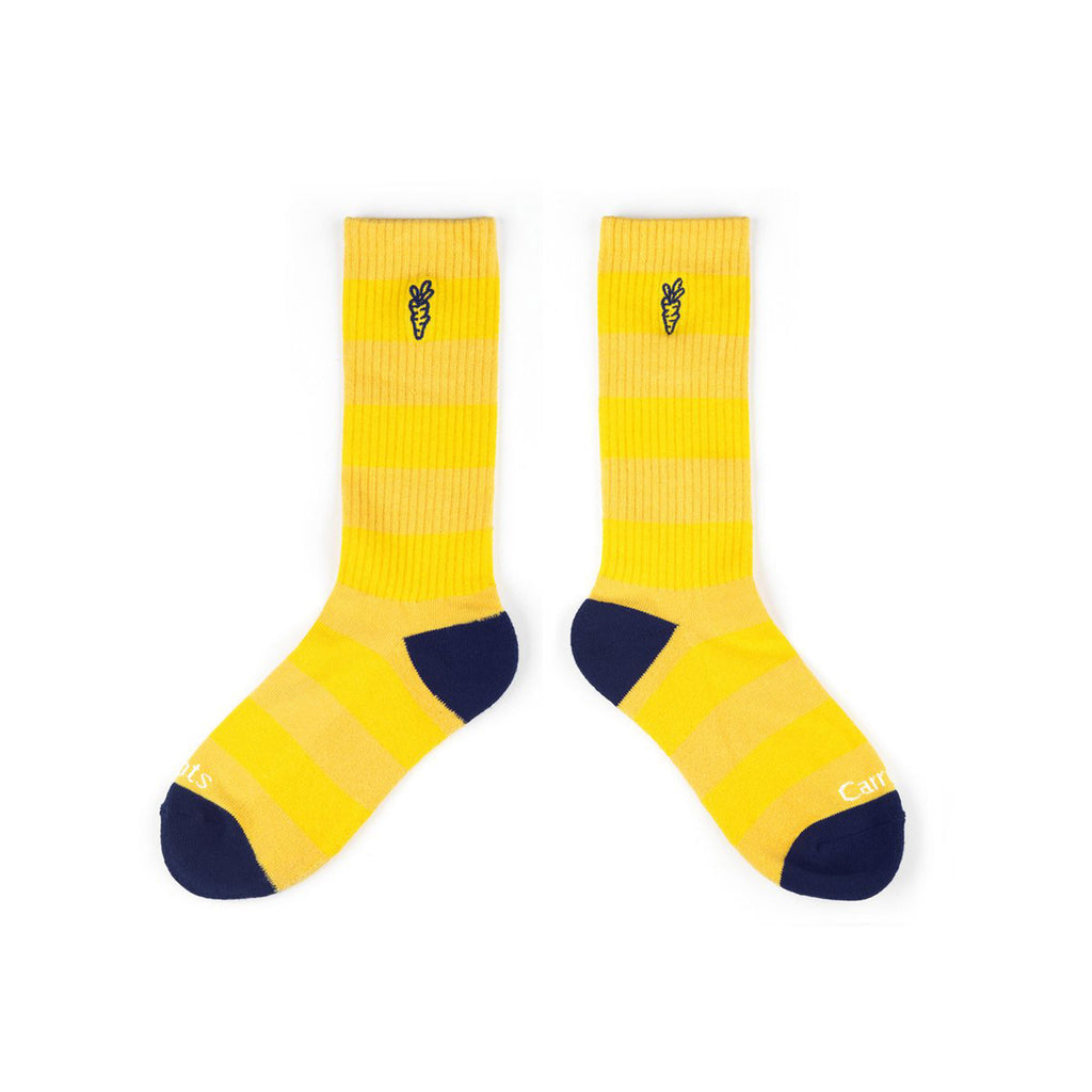 CARROTS Striped Socks Gold
