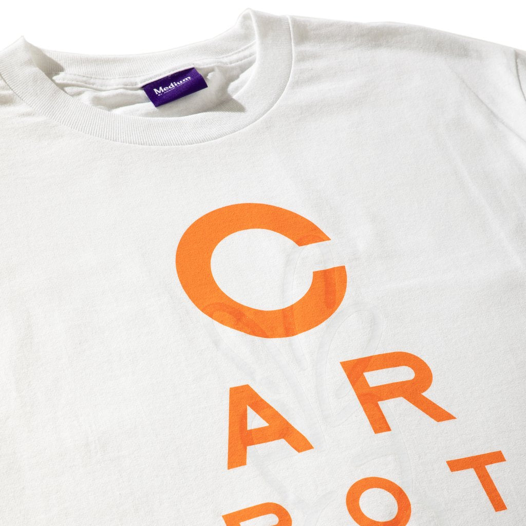 CARROTS x INARI 'EYE CHART' TEE WHITE